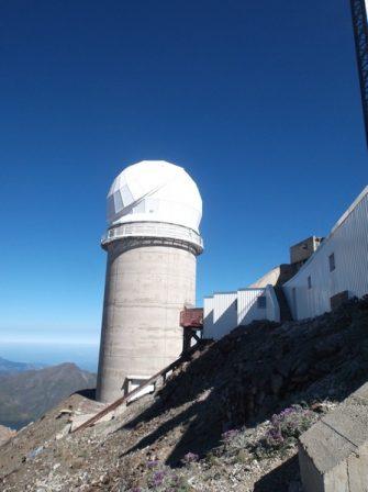 C'est parti pour le début de la descente après 15h passées au sommet.