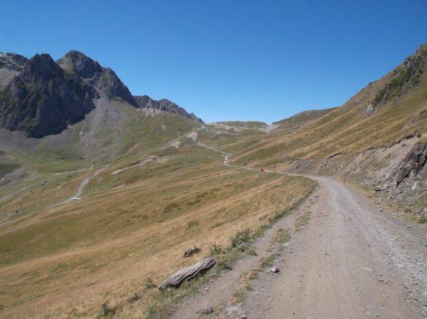 Retour pour rejoindre la route du Tourmalet.