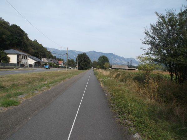 Sur la voie verte vers Lourdes.