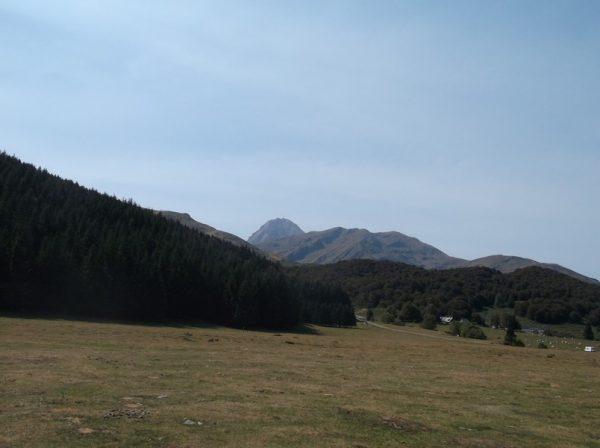 A Payolle, vue sur le Pic du Midi, majestueux.