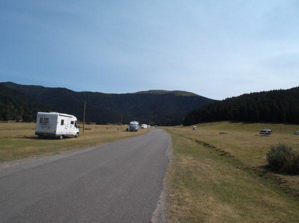 Sur le plateau de Payolle à 1100 m d'altitude.