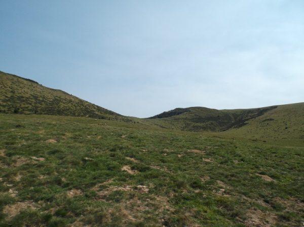 Le sommet est en vue à environ 2 kilomètres du sommet.