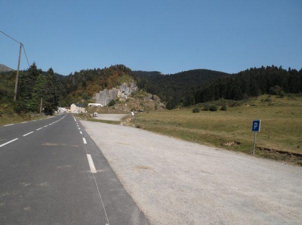C'est parti pour les 5 kilomètres restants vers le col d'Aspin !