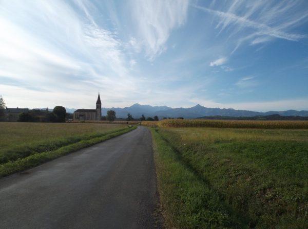 Ciel dégagé sur les Pyrénées ! Rien de plus motivant !