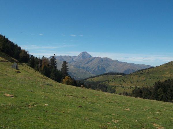 Vue superbe sur le Pic du Midi, impossible de s'en lasser !!