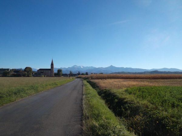 Ciel superbe sur les Pyrénées !!