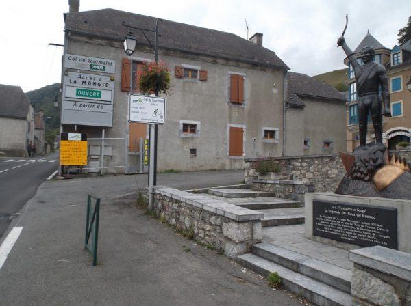 Sainte Marie de Campan, c'est parti pour les 17 km du Tourmalet !