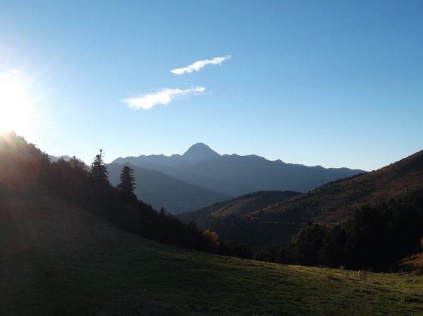 Vue sur le Pic du Midi depuis le sommet !