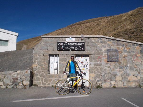37e fois que je grimpe le Tourmalet, la 11e de l'année, et je n'en ai pas assez...