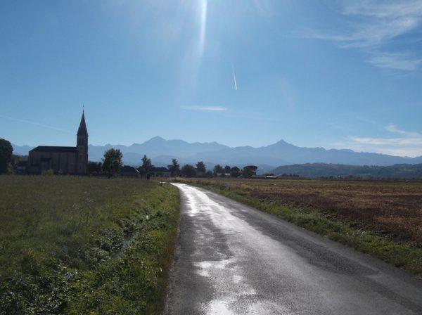 Dernier regard sur les Pyrénées avant de finir la sortie.